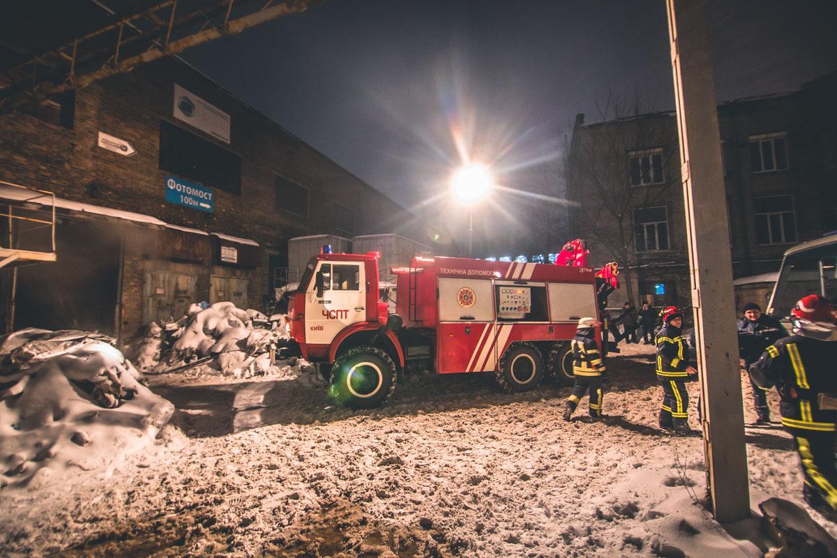 28 января по адресу улица Бориспольская, 9 загорелся Киевский радиозавод