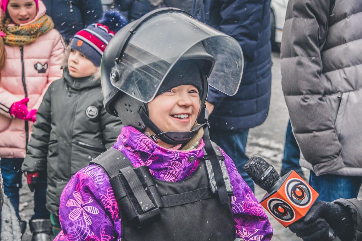Дети на мероприятии светились от счастья и радостно делились эмоциями