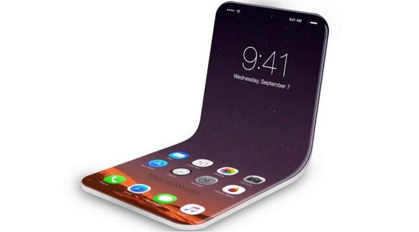 Компания Apple подала патент на создание складного Iphone