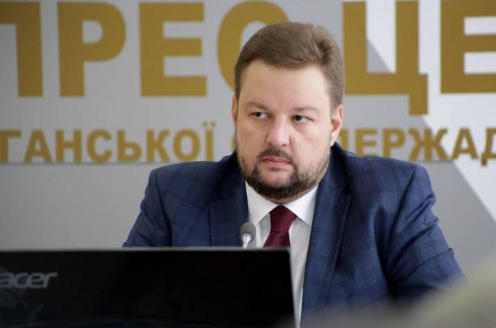 И.о. председателя Луганской облгосадминистрации Сергей Филь