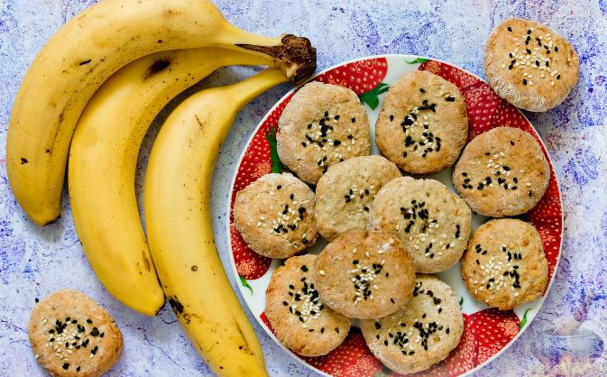 Нежное банановое печенье - то, что нужно к чаю в рождественский вечер