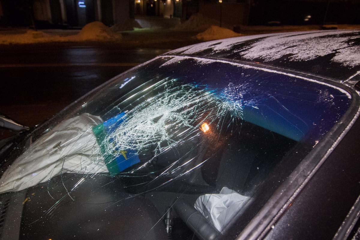 Водитель Daewoo от удара потерял сознание