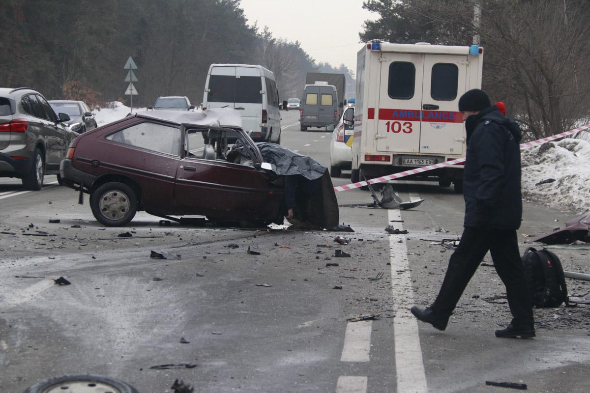 В результате аварии погибли три человека