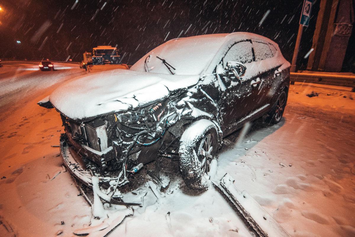 В ДТП пострадала пассажирка Hyundai