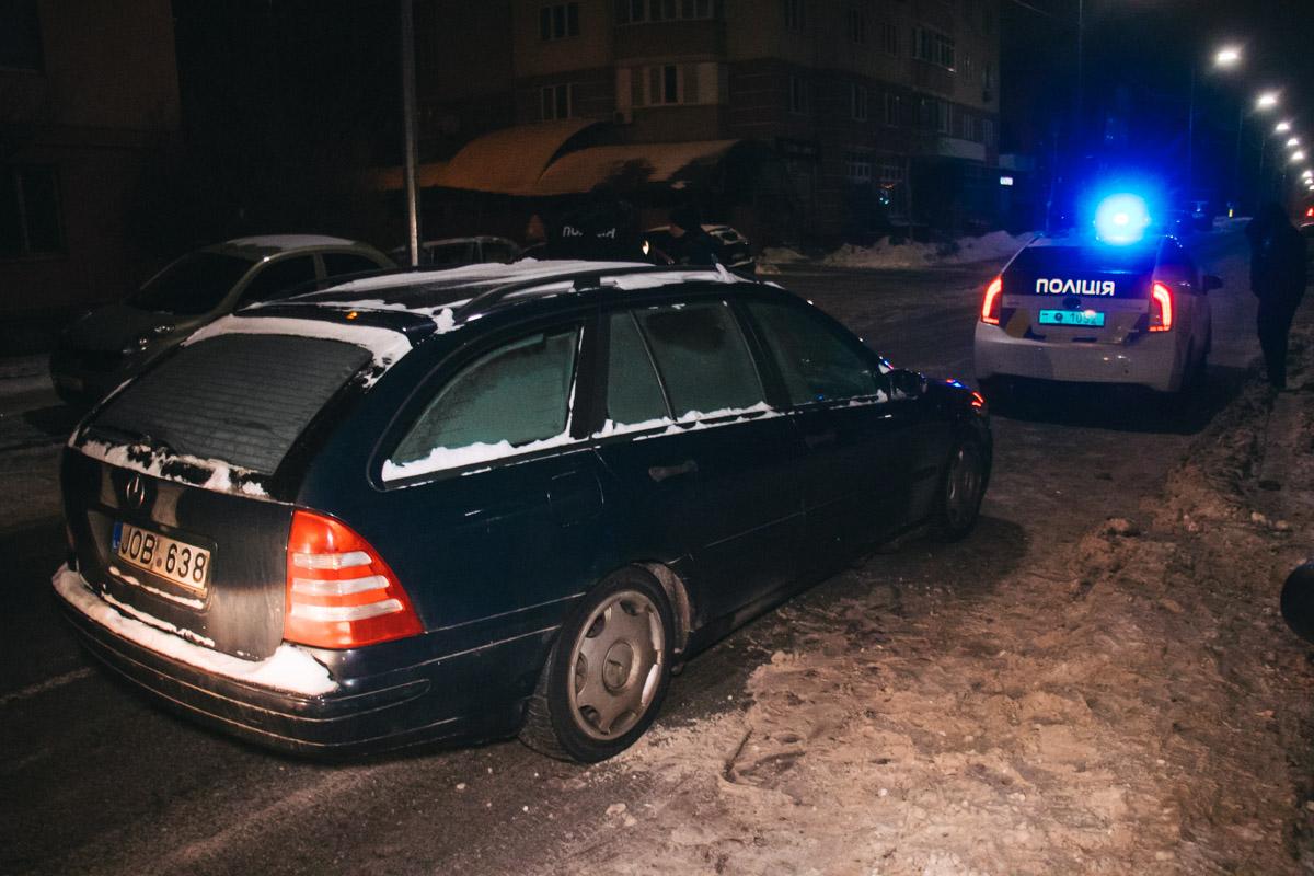 В субботу, 12 января, в Соломенском районе Киева произошел инцидент