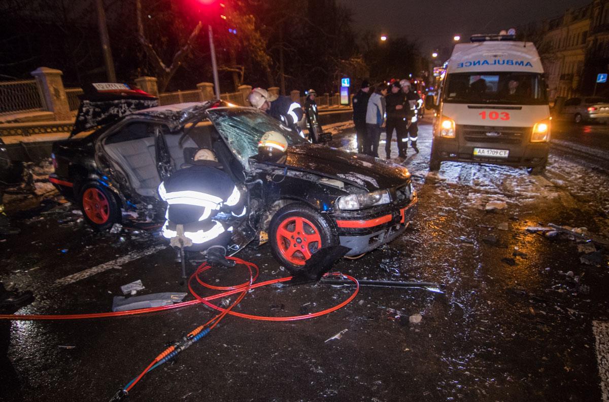 На бульваре Шевченко произошло серьезное ДТП