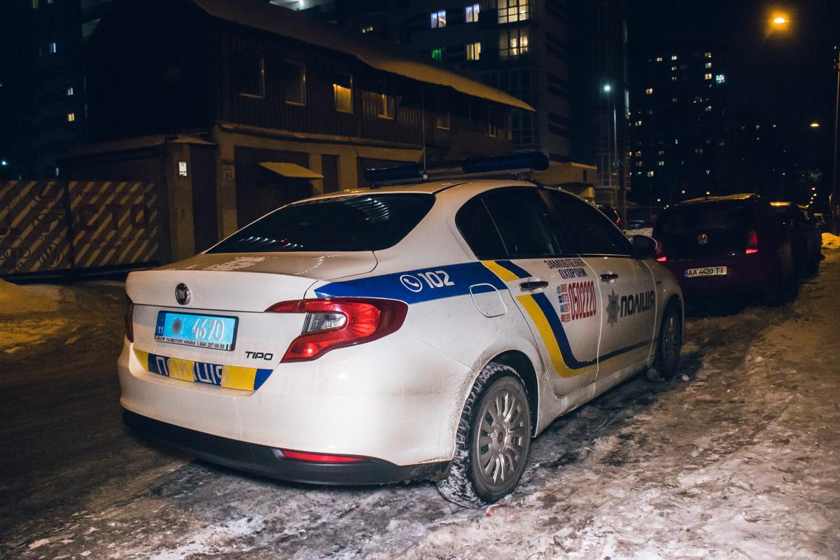 На месте работала полиция и следственно-оперативная группа
