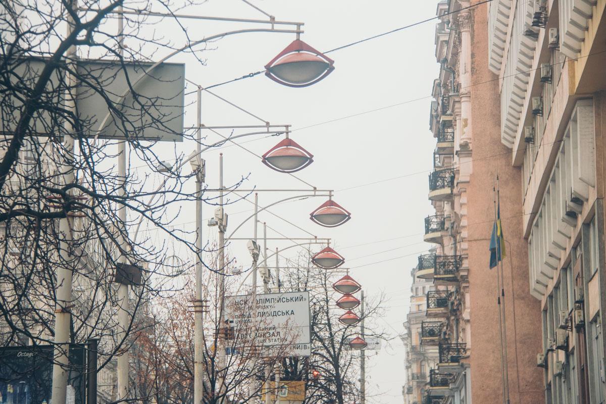 Богдана Хмельницкого - одна из самых светлых улиц в центре