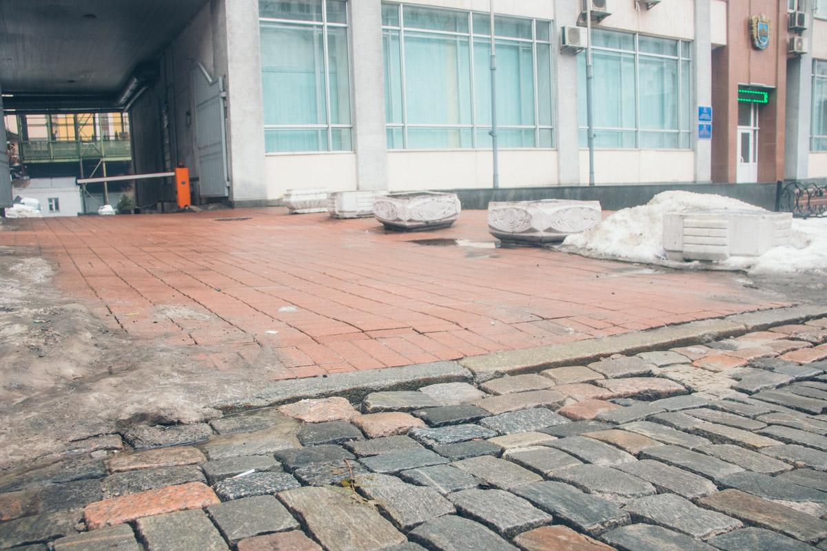 Условия для пешеходов удовлетворительные