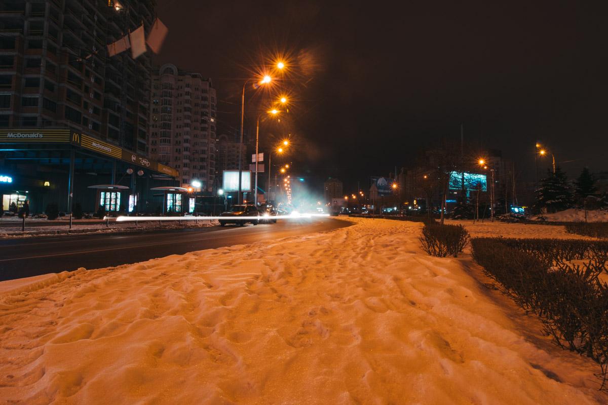 Вид на улицу Маршала Тимошенко