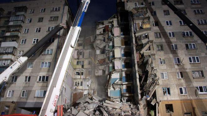 По данным Министерства чрезвычайных ситуаций, в результате взрыва уже погибли 8 человек