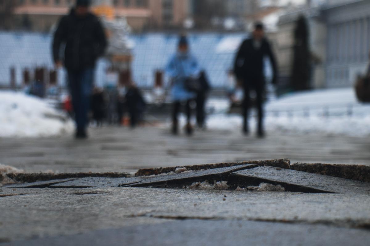 Майдан должны обустроить так, чтобы там было комфортно передвигаться людям с инвалидностью