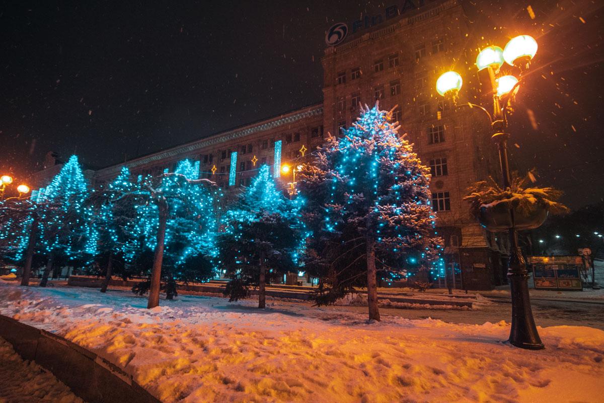 Снежные хлопья неустанно посыпали улицы