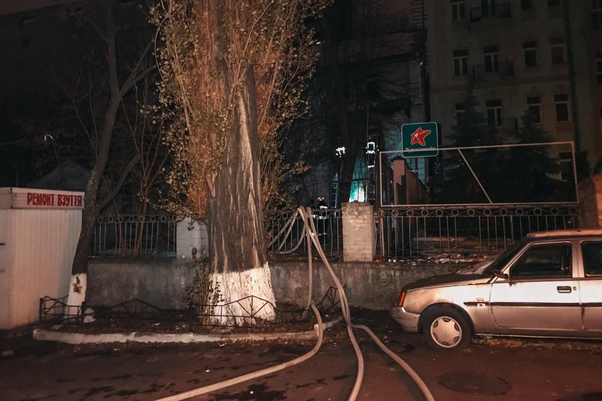 Пожарным понадобилось почти три часа, чтобы ликвидировать возгорание