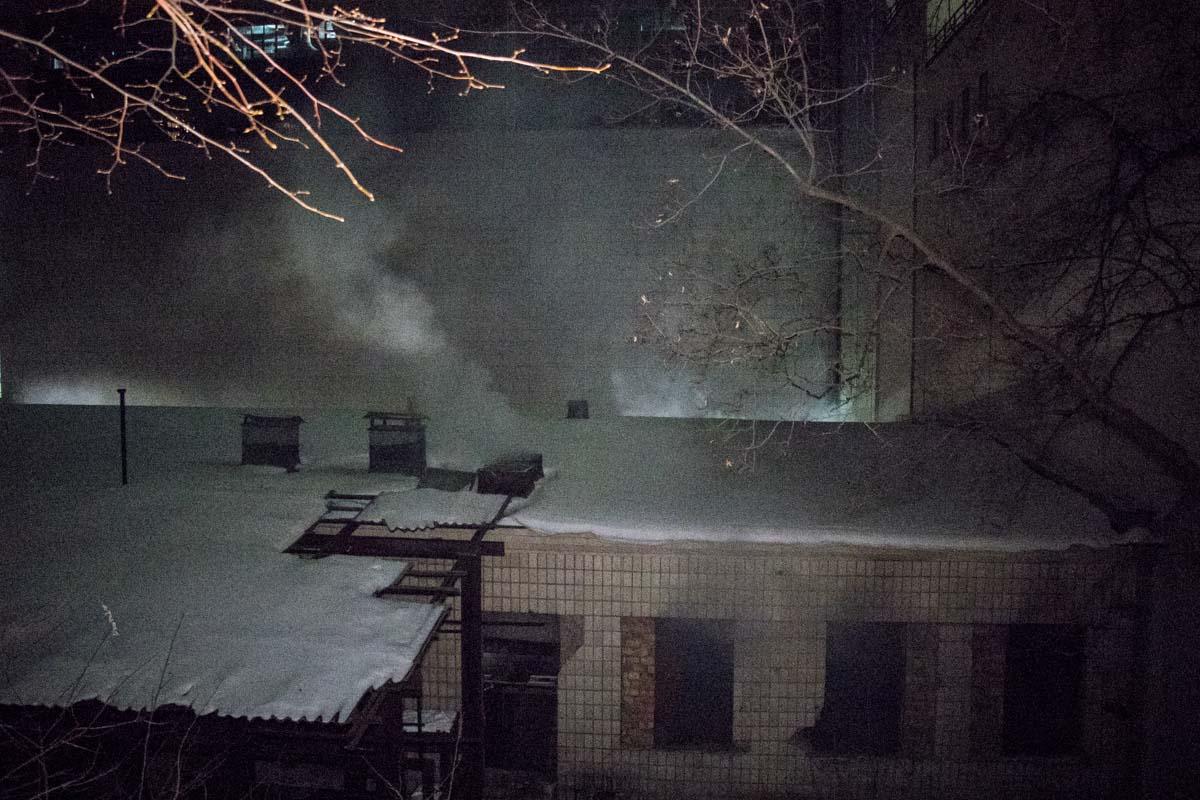 Очаг возгорания обнаружили на втором этаже