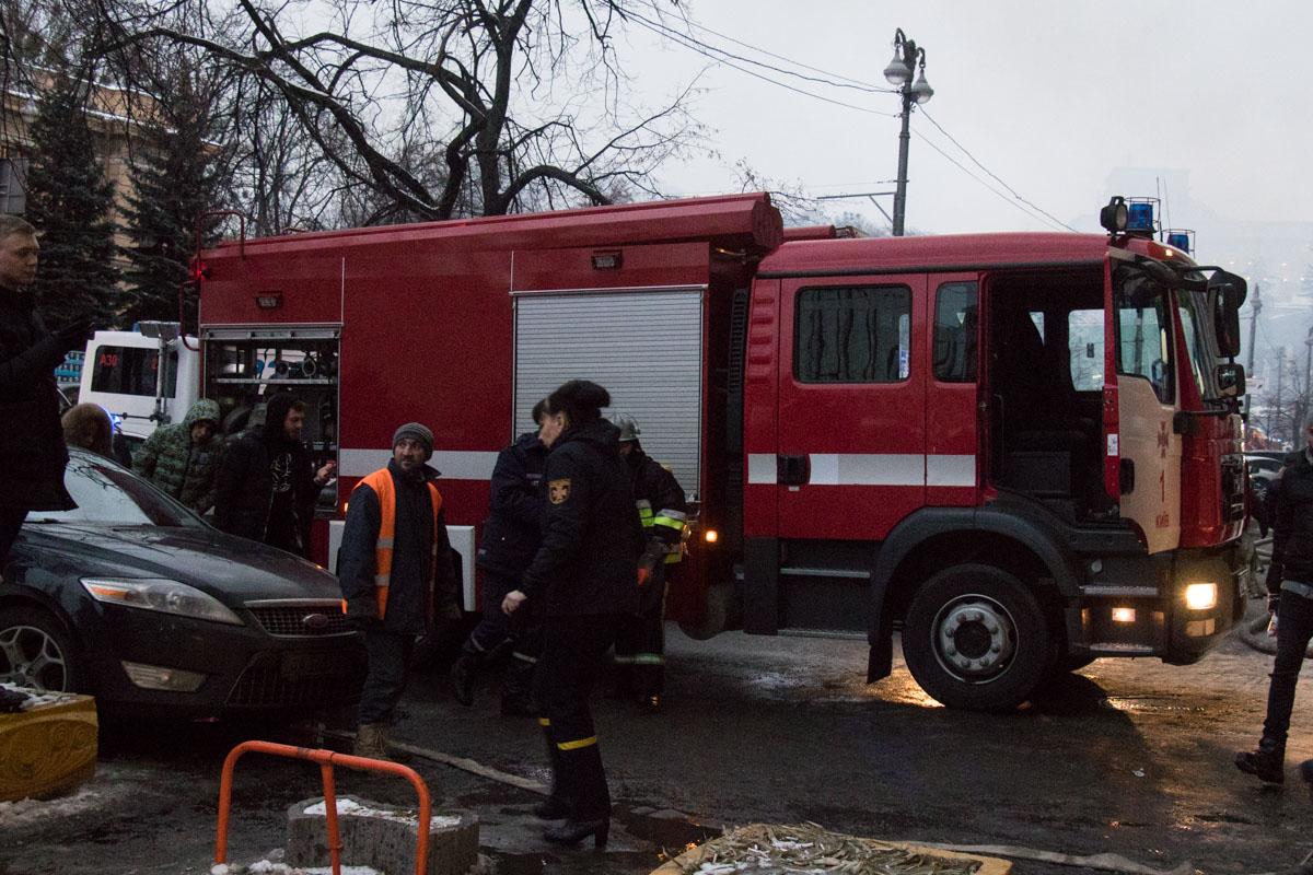 Сообщение о возгорании поступило на линии экстренных служб в 15:21