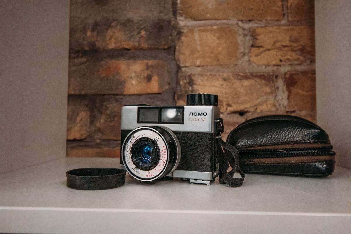 Ретро-фотоаппараты добавляют атмосферы