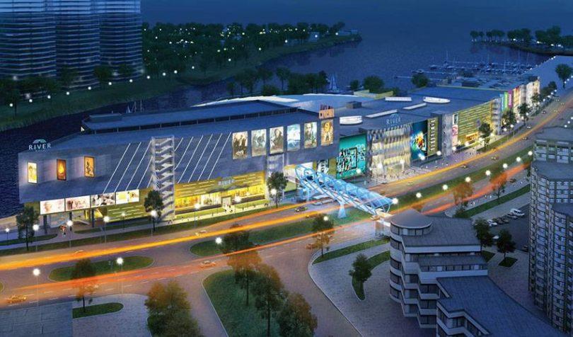 Долгострой, который после открытия станет крупнейшим торговым объектом в Киеве на Левом берегу Днепра