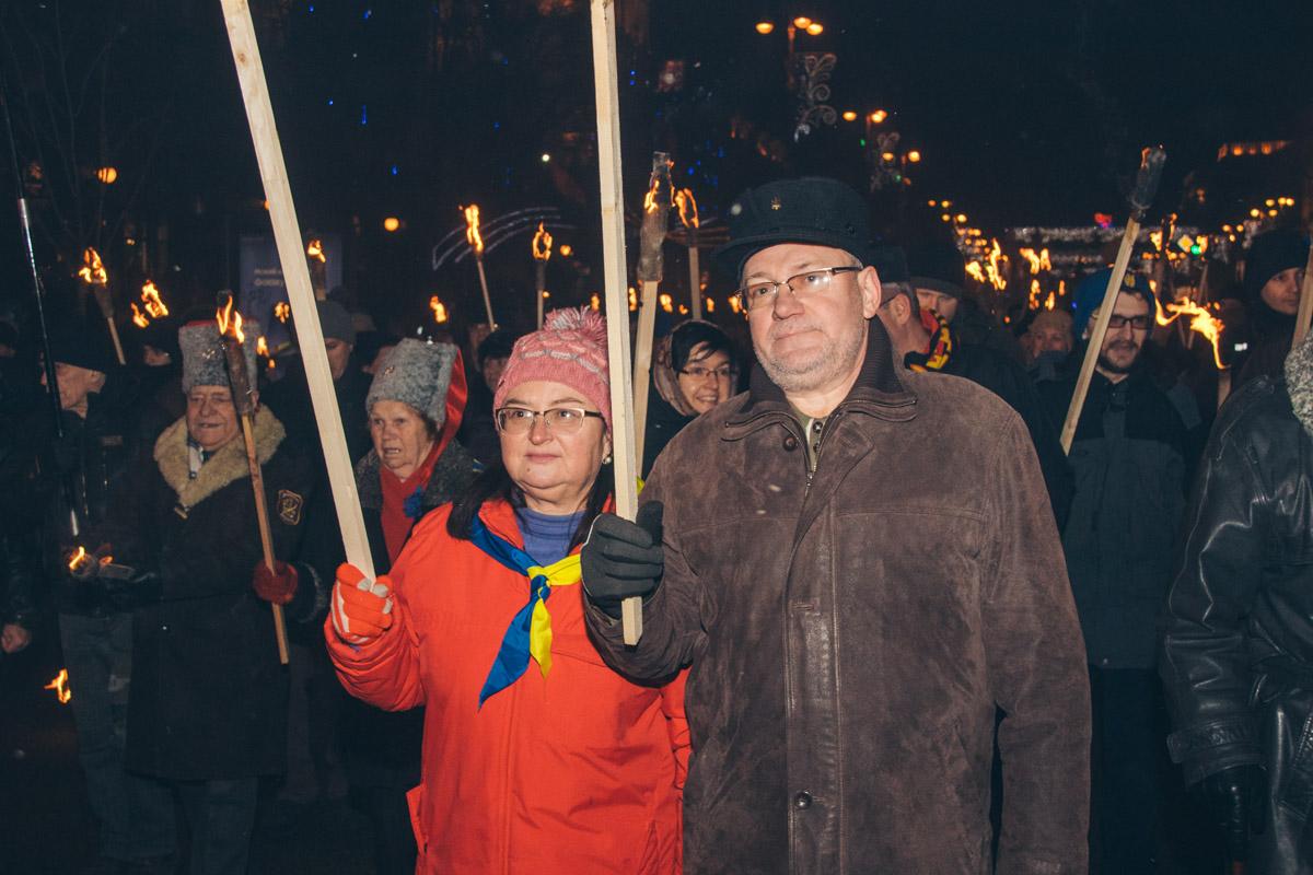 Тех, кто пришел на мероприятие, совсем не пугает холодная погода и усталость после празднования Нового года