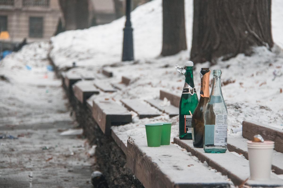Как же в Новый год без бутылочки игристого?