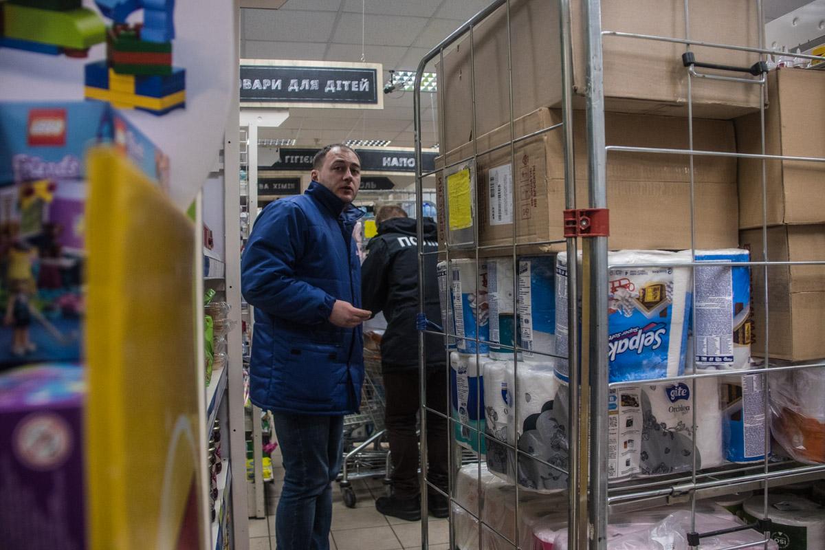 В помещении супермаркета Сильпо по адресу улица Маршала Малиновского, 34 умер мужчина