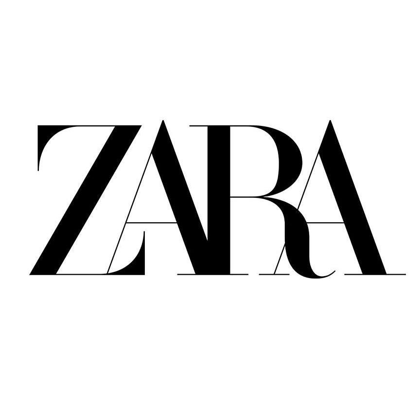 Бренд одежды Zara презентовал новый логотип
