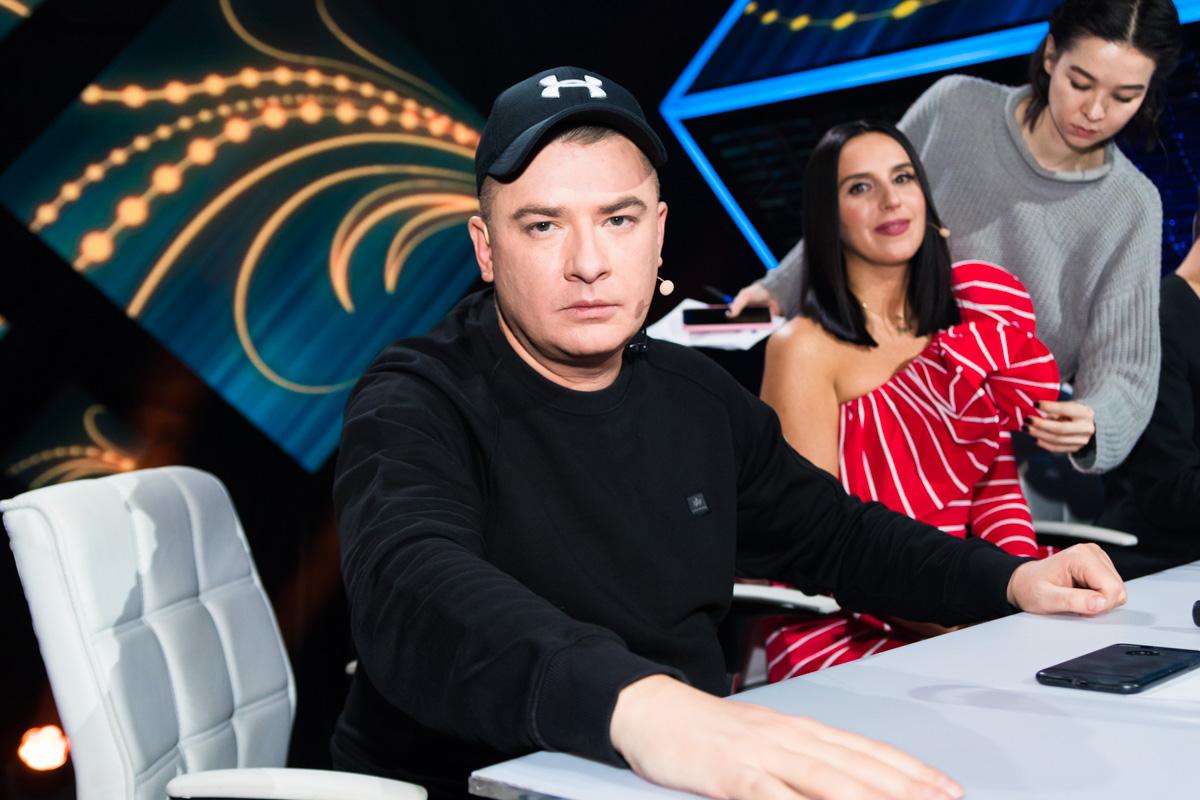 Уже традиционно судейские кресла занимали Джамала и Андрей Данилко