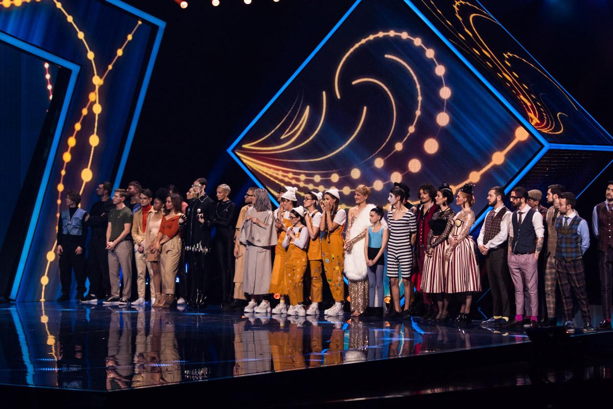 Свои номера зрителям и жюри показали восемь из шестнадцати конкурсантов, а среди них публика и судьи выбрали тройку лучших