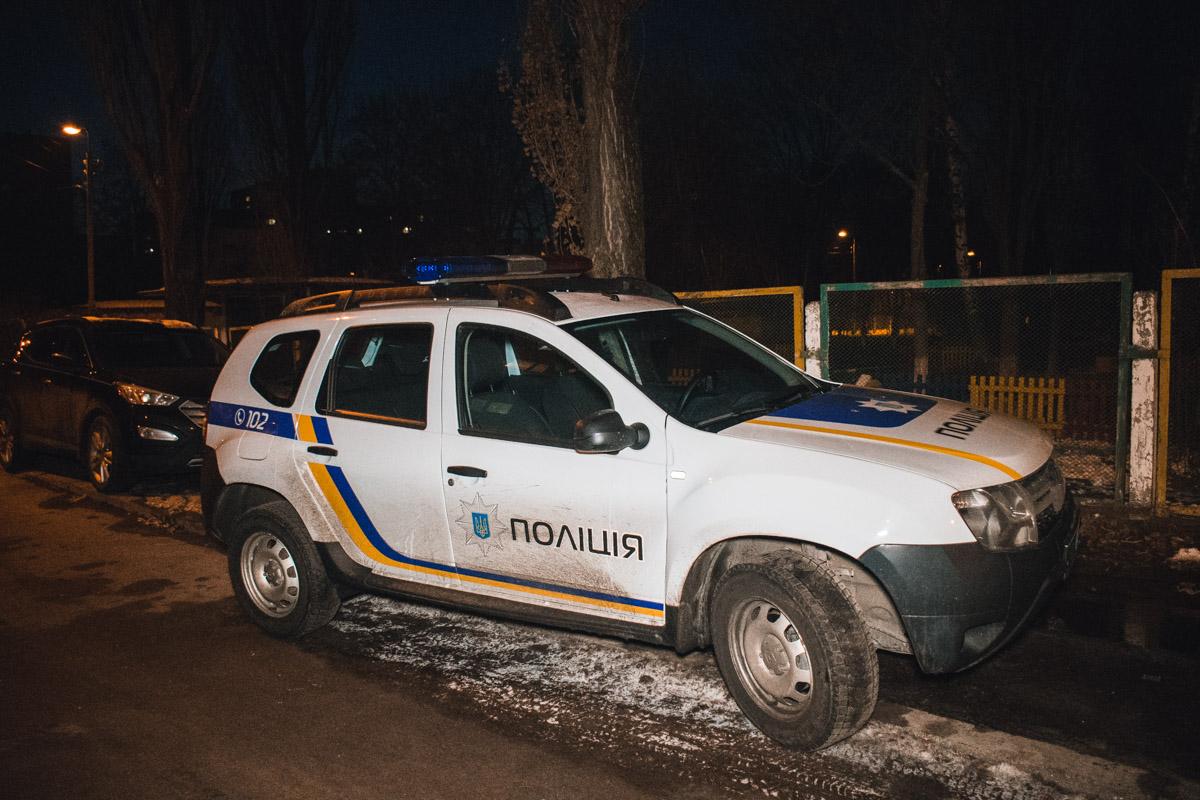 В воскресенье, 10 февраля, в Голосеевском районе Киева произошел инцидент