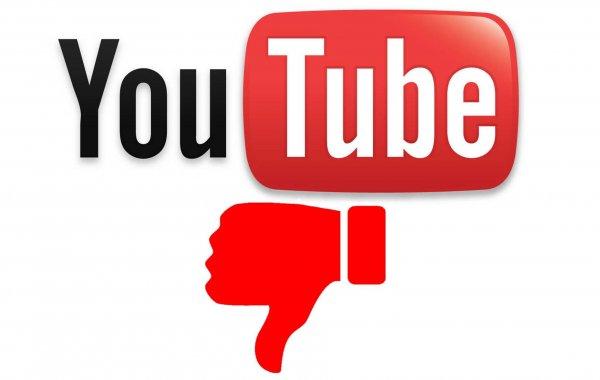 YouTube просит помощи у пользователей в борьбе с негативными оценками
