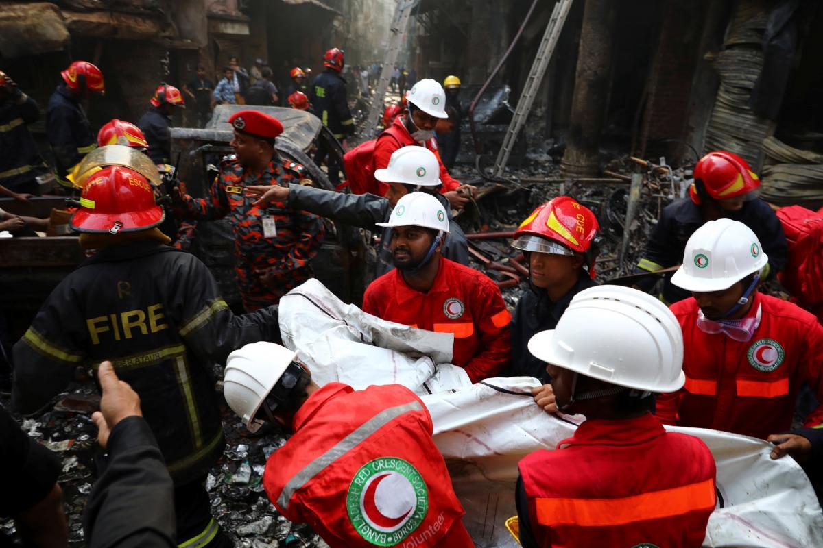 В Бангладеш 70 человек погибли из-за масштабного пожара