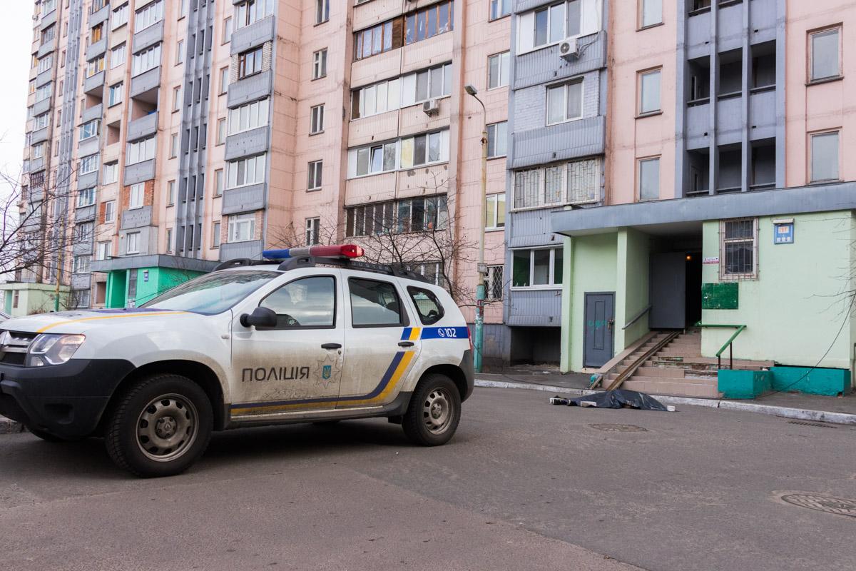 В Киеве на улице Вишняковской произошло трагическое событие