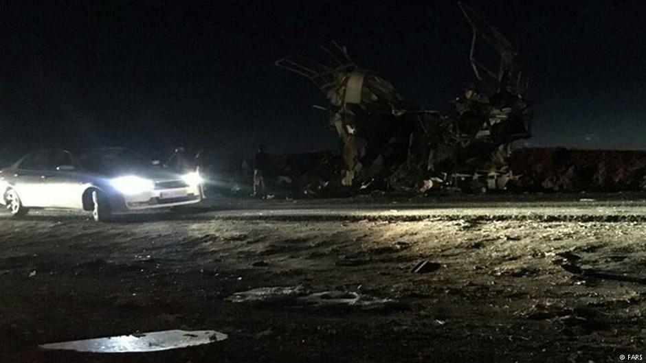 """В результате взрыва в иранской провинции Систан и Белуджистан погибли по меньшей мере 27 членов """"Корпуса стражей Исламской революции"""""""