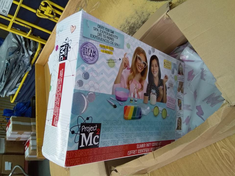 """Во время досмотра, в упаковке от игрушек выявили 152 грамма кокаина и более 2 килограмм психотропного вещества """"МДМА"""" (экстази)"""