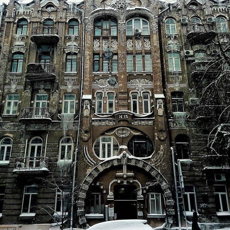 Кружева молчаливых зданий. Фото:@istetsen