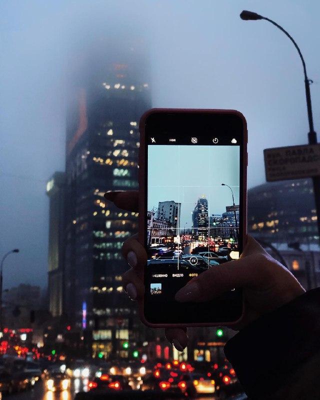 Город тысячи огней. Город тысячи возможностей. Фото: @just_one_mari