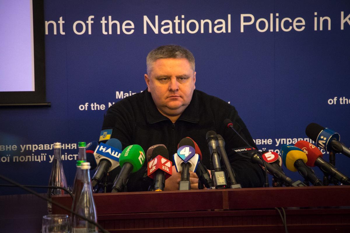 Андрей Крищенко - начальник ГУ Нацполиции в городе Киев