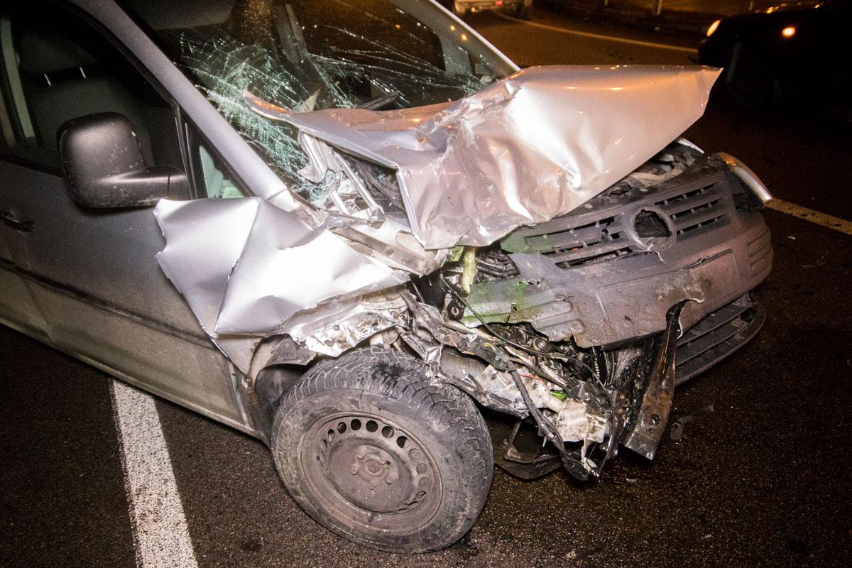 ВодительVolkswagen сбежал с места происшествия