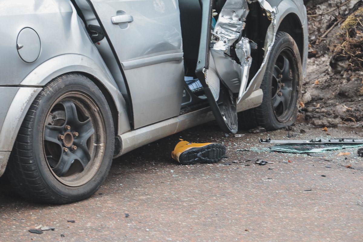 В аварии погиб один из пассажиров