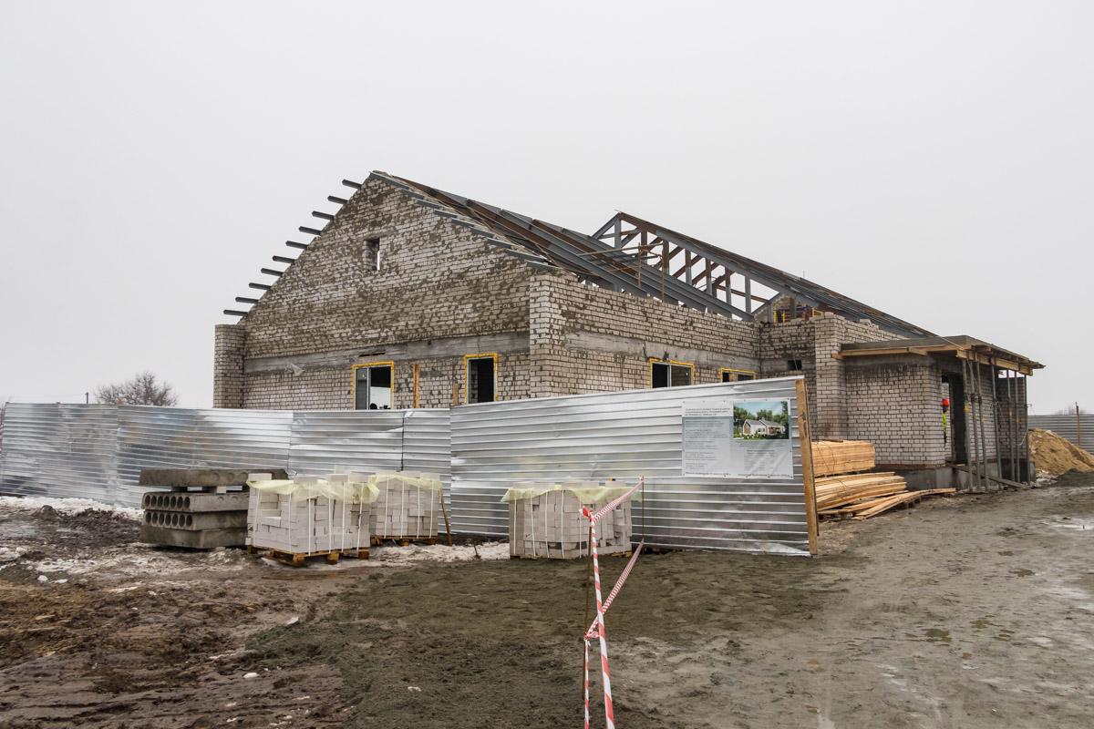 Строительство Малого группового дома в Петриковском районе