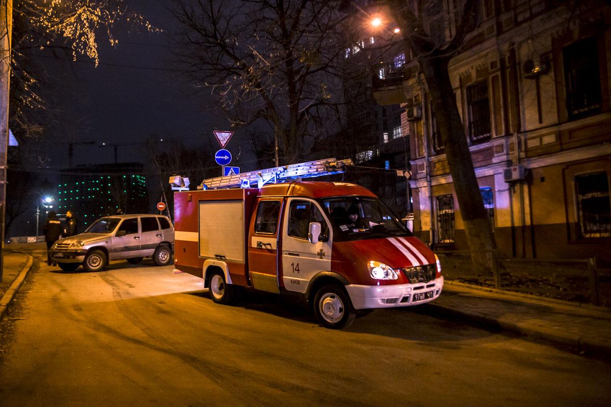 На месте работали две единицы спасательной техники, медики и полиция