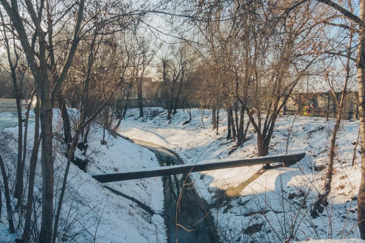 Он займет 10 гектаров земли и расположится вдоль реки Почайна и залива Вовковатого