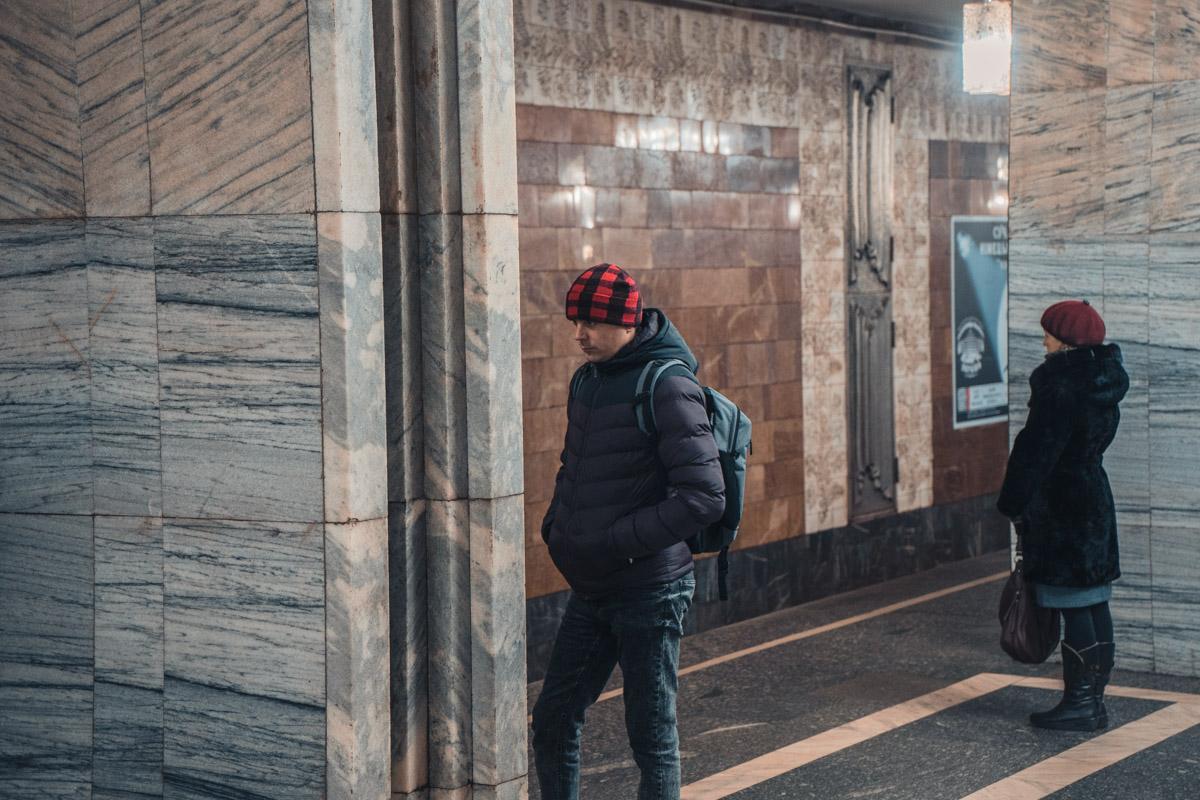 Когда не ожидал увидеть в метро поп-арт