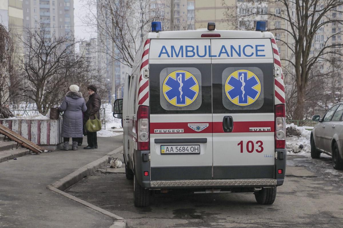 Раненого отвезли в больницу