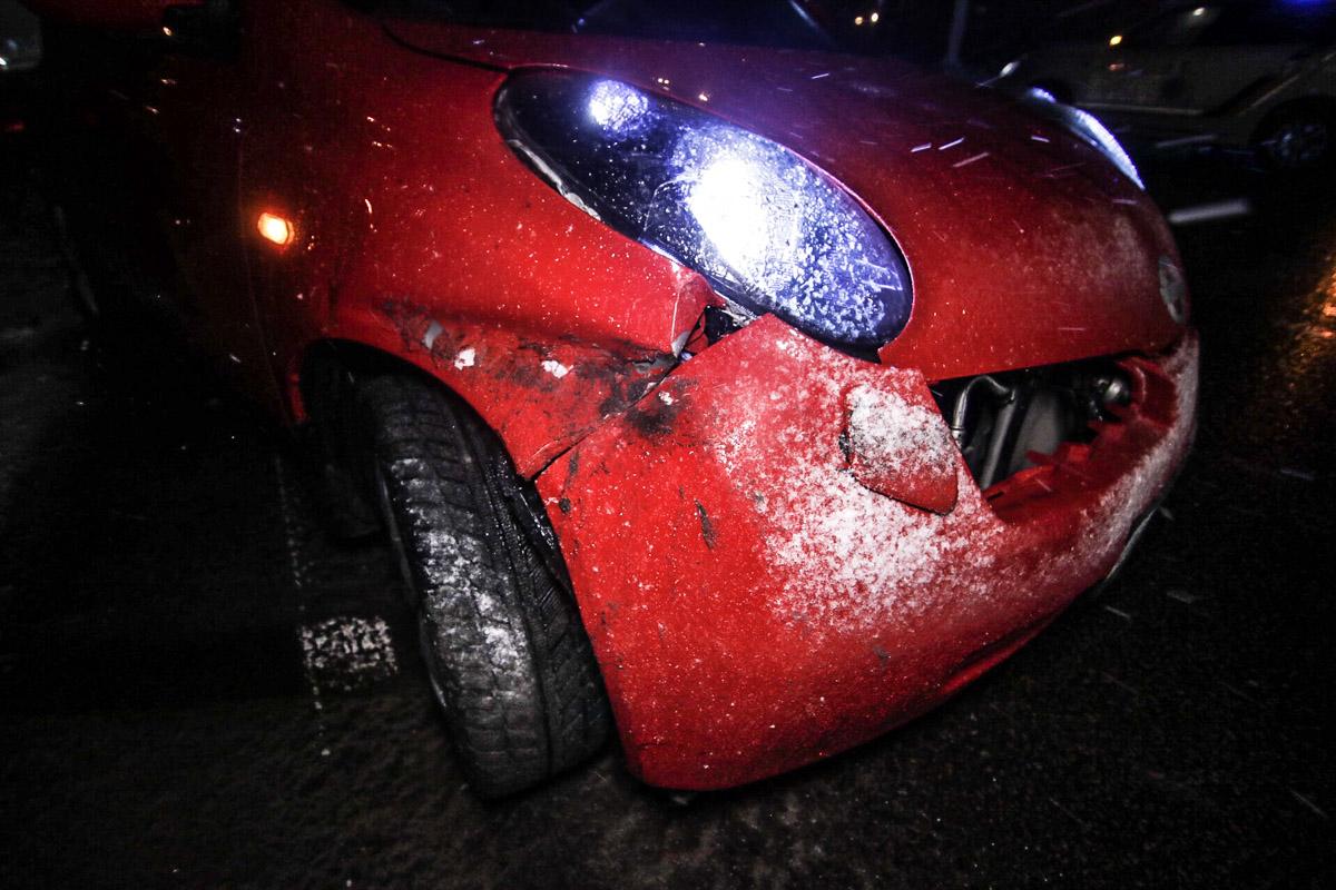 К счастью, в аварии никто не пострадал