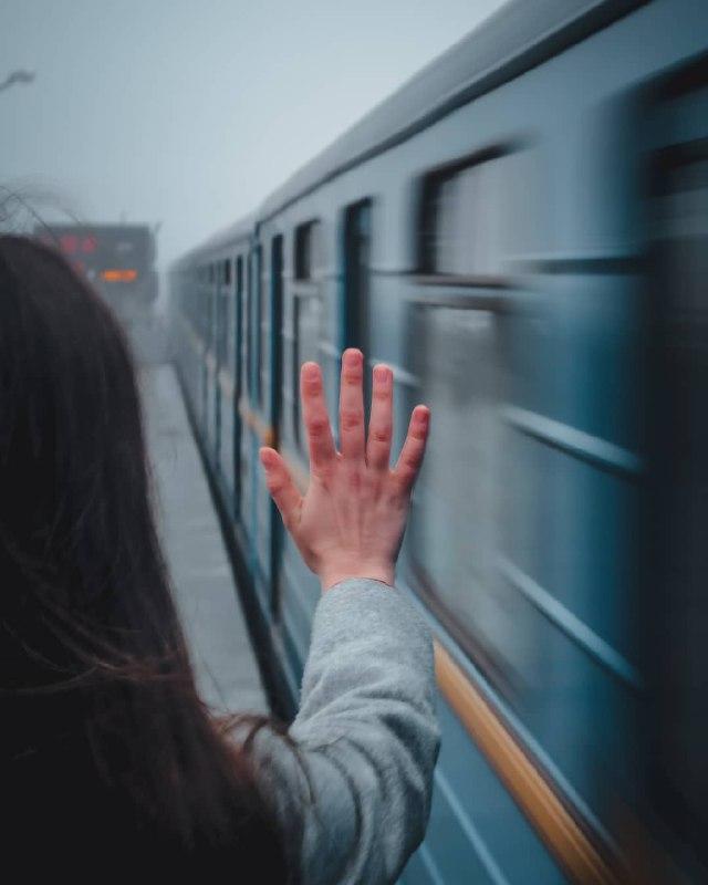 Где поезда, там веет прощанием. Фото: @a.probotiuk