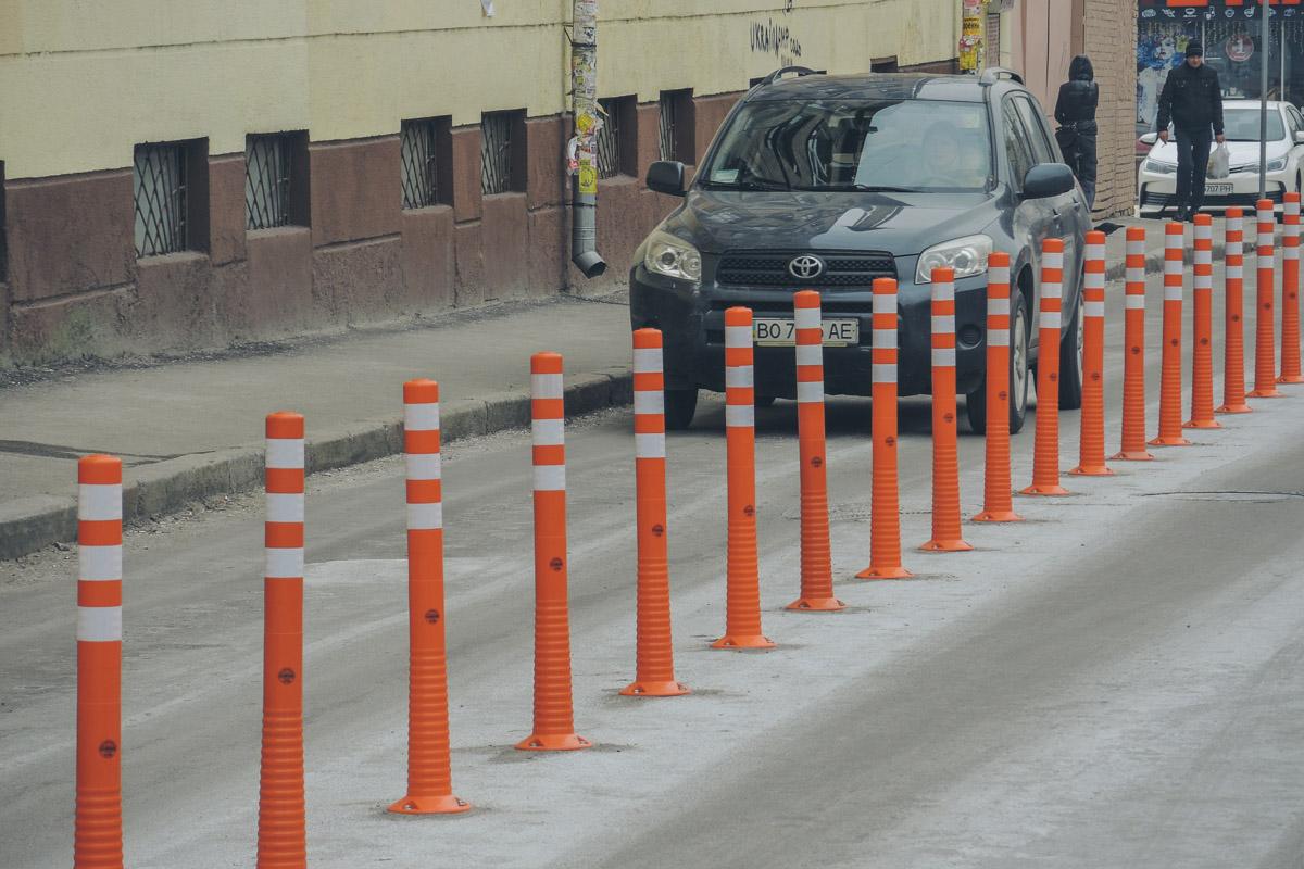 Их задача - борьба с хаотичной парковкой