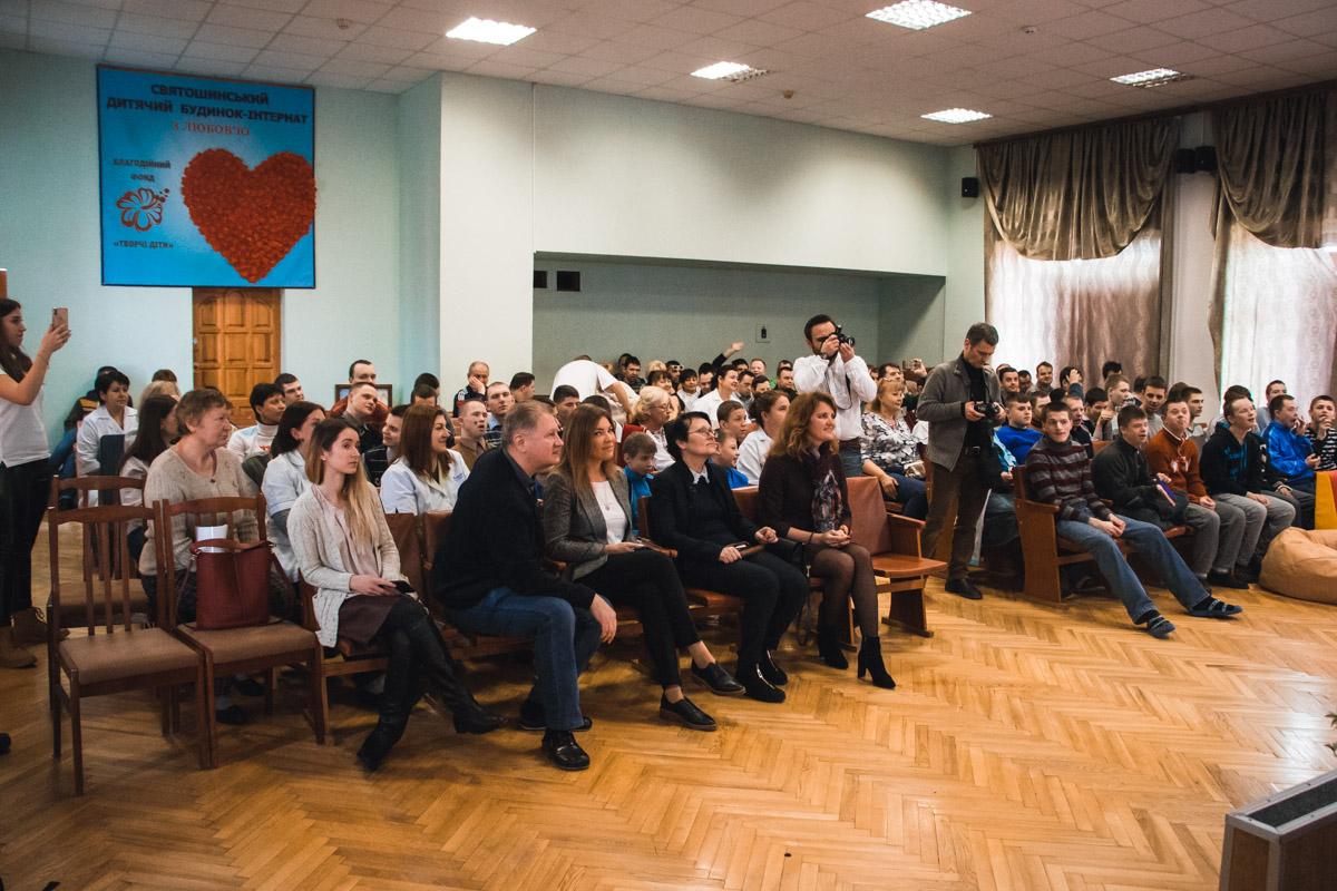 В Святошинском районе Киева открыли реабилитационную комнату в детском доме-интернате для мальчиков