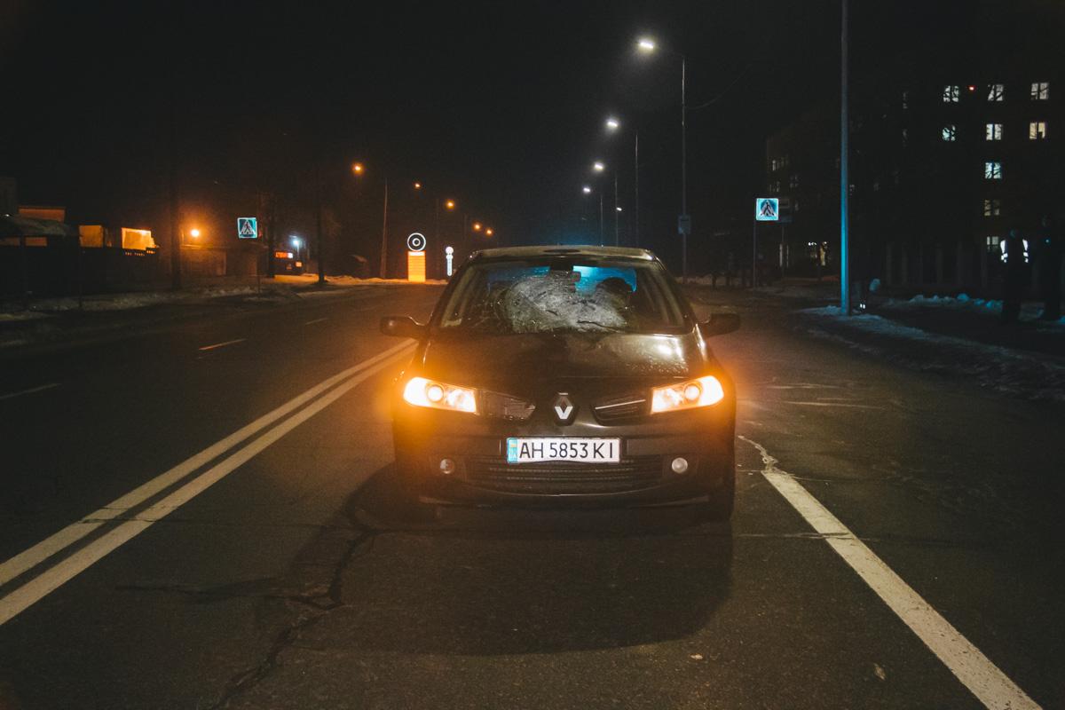 Водитель и его ребенок не пострадали