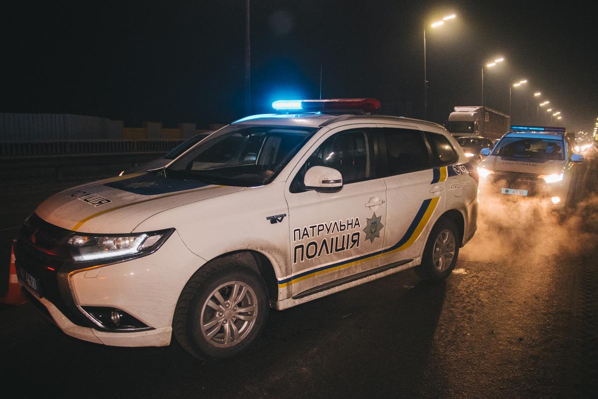В результате столкновения пострадала девушка-полицейский